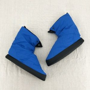 REI Cabiniste Fleece-Lined Down Booties Slippers